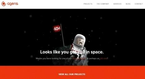 20 Creative, Unusual 404 Pages   oliviermarchand.es   Scoop.it