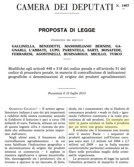 Il M5S e il grano saraceno | cattivamaestra | The Matteo Rossini Post | Scoop.it