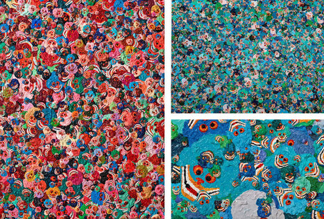 Peintre médiumnique Zhang Huan   spiritualité, médiumnite, parapsychologie   Scoop.it