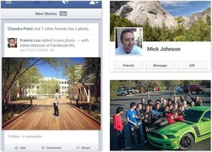 Facebook for Android update touts speedier photo viewing | The Perfect Storm Team | Scoop.it