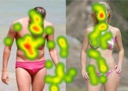 Eye Tracking: Where Men & Women Focus Attention On The Opposite Sex [HEATMAP]   Eyetracking news   Scoop.it