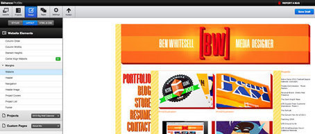 Create a portfolio website using Behance ProSite | Portfolios | Creative Bloq | Evoluer en graphisme et webdesign | Scoop.it