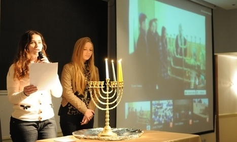 Jewish Agency School Twinning Conference Features International Chanukah Lighting Ceremony | Jewish Education Around the World | Scoop.it