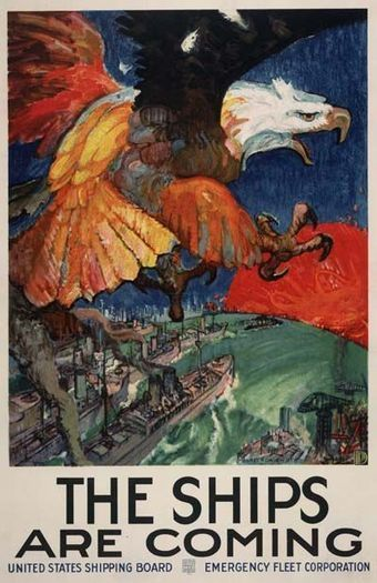 British & US WWI & WWII posters (image heavy) - War History Online | world war history | Scoop.it