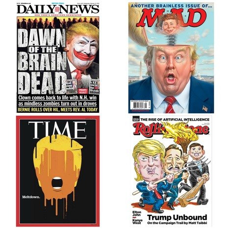 The 15 most provocative Trump magazine and tabloid covers | Social Media | Scoop.it