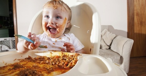 High Chairs Help Toddlers Learn 'Messy' Words | IELTS throughout the Net | Scoop.it