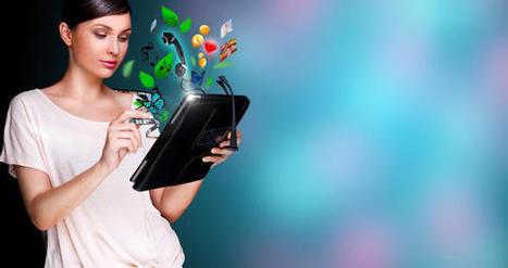 L'utilisation du digital par les femmes en pleine expansion   Éducation et enseignement   Scoop.it