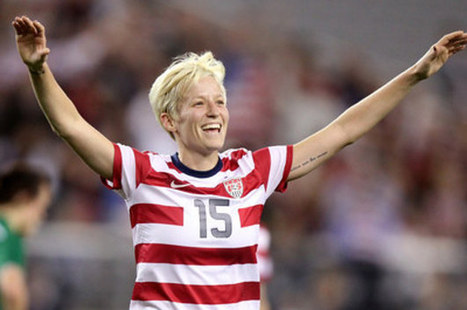 You Can Finally Witness The Glory Of Megan Rapinoe In ESPN's Body Issue   notstraight.com   Scoop.it