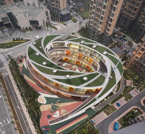 UDG: Kindergarten in Xieli Garden / UDG + SEU | retail and design | Scoop.it