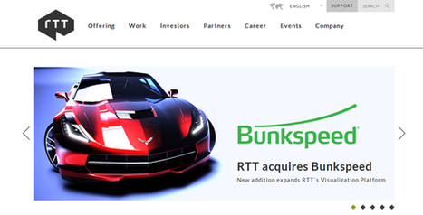 RTT Buys Bunkspeed, Reaches into New Markets | 4D Pipeline - trends & breaking news in Visualization, Virtual Reality, Augmented Reality, 3D, Mobile, and CAD. | Scoop.it