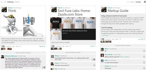 Socl unveils brand new design | Business in a Social Media World | Scoop.it