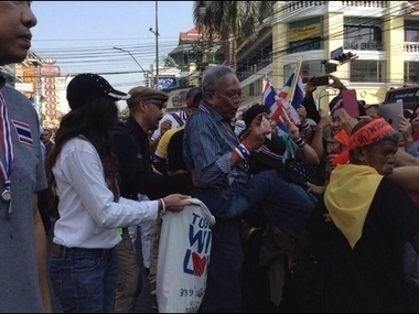Thai people are marching now! | The World We Live In | Scoop.it