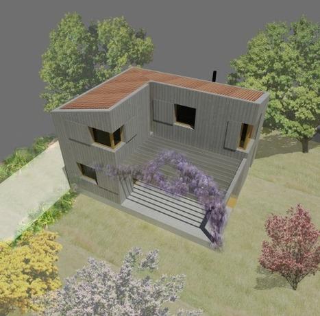 [inspiration] Construction d'une maison bois dans l'Ain : 130 000€ / 104m² | Qualité environnementale des bâtiments et territoires | Scoop.it