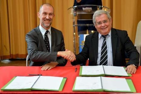 Signature d'un partenariat entre l'École des Ponts ParisTech et la Mairie d'Aulnay-sous-Bois autour d'un projet de développement territorial ambitieux | ENPC | Scoop.it
