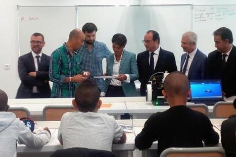 François Hollande et Najad Vallaud-Belkacem des militants de l'impression 3D ?   Impression 3D   Scoop.it
