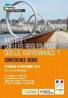 Rencontre Popsu - 18 novembre / Nantes: quelle règles pour quelle gouvernance ? - PUCA | Ambiances, Architectures, Urbanités | Scoop.it