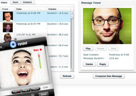 Video mensajes - Eyejot - the easiest way to send video | Maestr@s y redes de aprendizajes | Scoop.it