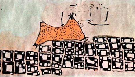 Peinture néolithique de Çatal Höyük : volcan ou peau de léopard ? | Aux origines | Scoop.it