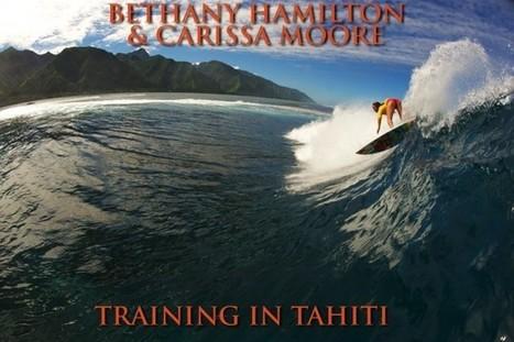 Bethany & Carissa training in Tahiti | TAHITI Le Mag | Scoop.it