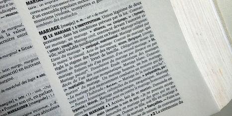 Le mariage change de définition dans le dictionnaire | Textes pour mes élèves | Scoop.it