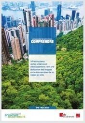 Infrastructures vertes urbaines et développement : vers une évaluation des impacts socio-économiques de la nature en ville - Synergiz | Economie de l'innovation | Scoop.it