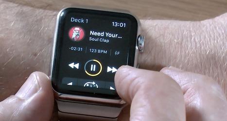 Video: DJing On An Apple Watch With djay 2.5 - Digital DJ Tips | DJing | Scoop.it