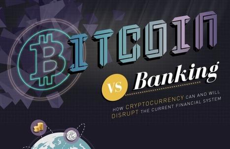 Infographie : Pourquoi Bitcoin va bousculer la banque   b3b   #Digital #Social   Scoop.it