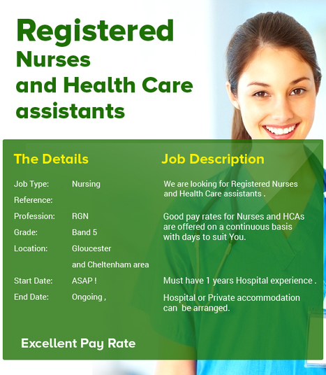 Registered Nurses and Health Care assistants . | Medical locums | Scoop.it