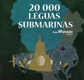 Blog JVernePt: A bYfurcação Teatro regressa aos palcos com a peça infantil '20000 Léguas Submarinas' | Ficção científica literária | Scoop.it