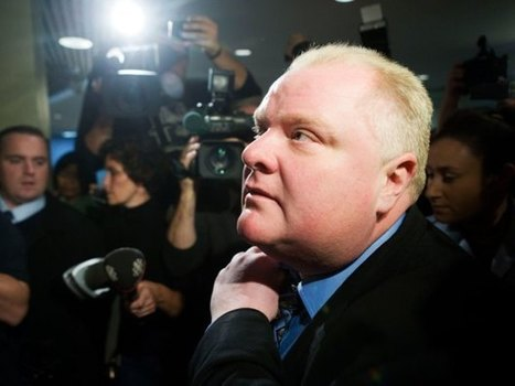 Rob Ford a necessary distraction from Canada's other political scandals   North an South America   Scoop.it