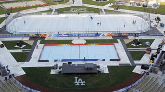 Preparing for hockey at Dodger Stadium | Winning The Internet | Scoop.it