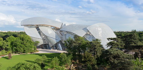 Daniel Buren rhabille la Fondation Vuitton | Art contemporain et culture | Scoop.it
