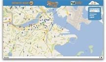 Literary masterpiece 'Infinite Jest' visualized in Google map | American Literature | Scoop.it