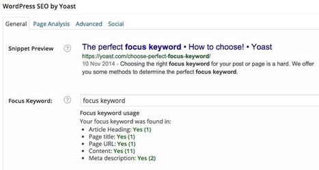 How to Choose the Perfect Focus Keyword | SEJ | Web Content Enjoyneering | Scoop.it