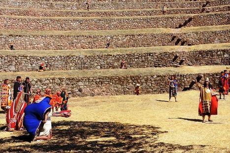 Escenifican rito Inca de OFRENDA a la Pachamama Wataqallariy en Moray, Cusco | Arqueología del Perú | MAZAMORRA en morada | Scoop.it