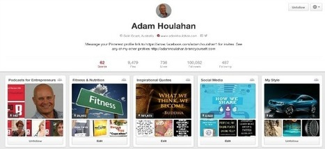 5 Pinterest Tips That Will Make You an Expert in No Time - Adam Houlahan | Social Media and Mobile Websites | Scoop.it