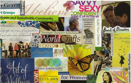 How to Create a Vision Board and visualise your success   Career Exploration Classroom   Scoop.it