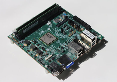 Applied Micro X-Gene X-C1 ARMv8 Server Development Board is Now Available for Pre-order | Embedded Systems News | Scoop.it