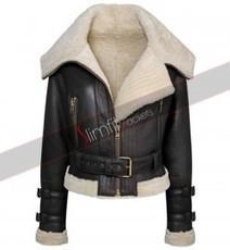 Women's Aviator Sheepskin Fur Jacket | Designers Women Leather Jackets & Pants | Scoop.it