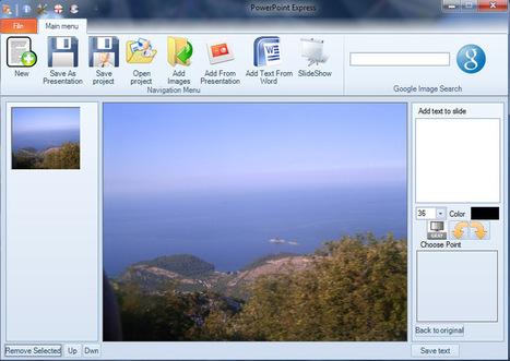 PowerPoint Express: un petit logiciel pour faire des présentations powerpoint simples, sans l'inutile | le foyer de Ticeman | Scoop.it
