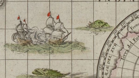 Why there are sea monsters lurking in early world maps | Lorraine's Geography SKILLS and ICT | Scoop.it
