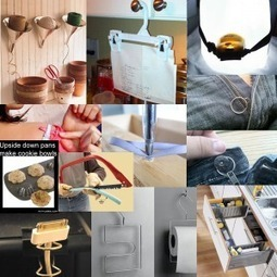 10 Clever Ideas | DIY-UPCYCLING-RECYCLED | Scoop.it