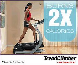 Treadclimber by Bowflex Stepper Treadmill As Seen TV
