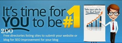 Free 200 Instant Approval Blog Directories | Blogging Crazed | Scoop.it