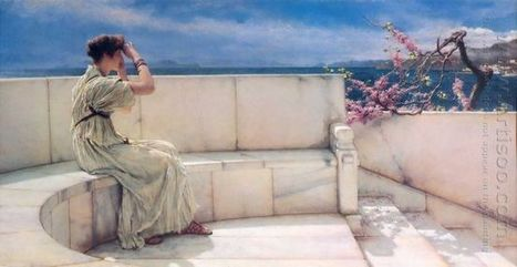 Oil painting reproduction: Sir Lawrence Alma-Tadema Expectations, 1885 - Artisoo.com | arts&oil | Scoop.it