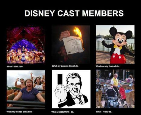 Disney Cast Members | What I really do | Scoop.it