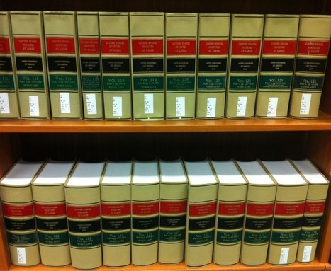 Frequent Reference Question: How Many Federal Laws Are There? | In Custodia Legis: Law Librarians of Congress | Library Collaboration | Scoop.it
