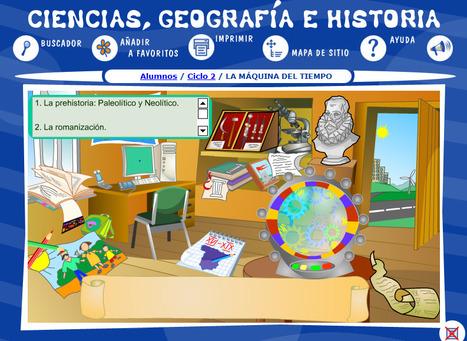 Ciencias, Geografía e Historia -- LA MÁQUINA DEL TIEMPO -- Selección de Unidad -- Ciclo 2   SCIENCE-ENGLISH CLASSROOM   Scoop.it