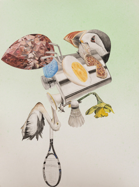 Anatomical Fragments by Alfred Steiner | Trendland | @FoodMeditations Time | Scoop.it
