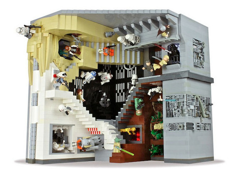 Lego Star Wars, MC Escher Illusion | Geeky Gadgets | The brain and illusions | Scoop.it